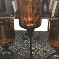 Pier 1 Candle holder for sale in Seansea IL by Garage Sale Showcase member Dmeile, posted 01/25/2019