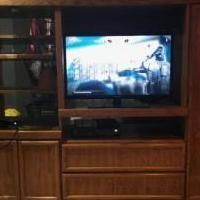 Entertainment Center for sale in LANSING MI by Garage Sale Showcase Member Pole Barn Sale