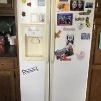 Refridgerator for sale in LANSING MI by Garage Sale Showcase Member Pole Barn Sale