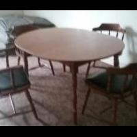 Dinette Table and Chairs for sale in Knox County ME by Garage Sale Showcase Member Saxbass44