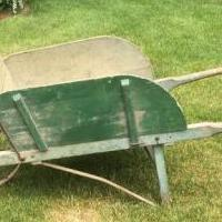 Wheelbarrow-antique for sale in Ferrisburg VT by Garage Sale Showcase member Shdwlk1979, posted 06/11/2020