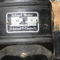 Leland Electric Motor for sale in Ferrisburg VT by Garage Sale Showcase member Shdwlk1979, posted 06/12/2020