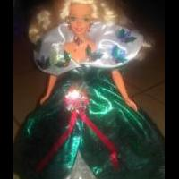 Christmas barbie for sale in Dexter MO by Garage Sale Showcase Member Missouri Yard Sale Queen
