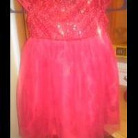 Girls ( size 5. ) Red sequin dress for sale in Dexter MO by Garage Sale Showcase Member Missouri Yard Sale Queen