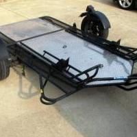 Kendron Motorcycle Trailer for sale in Benzie County MI by Garage Sale Showcase Member Beulahsales