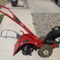 Troy-Built Rear Tine Rototiller for sale in Stillwater County MT by Garage Sale Showcase Member Terry Vandercook
