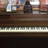 Betsy Ross Spinet Piano for sale in Montgomery County IL by Garage Sale Showcase member barbmaje, posted 08/12/2018