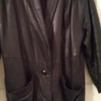 Ladies Leather Coat for sale in Cumberland MD by Garage Sale Showcase member VTamosaitis, posted 01/22/2019