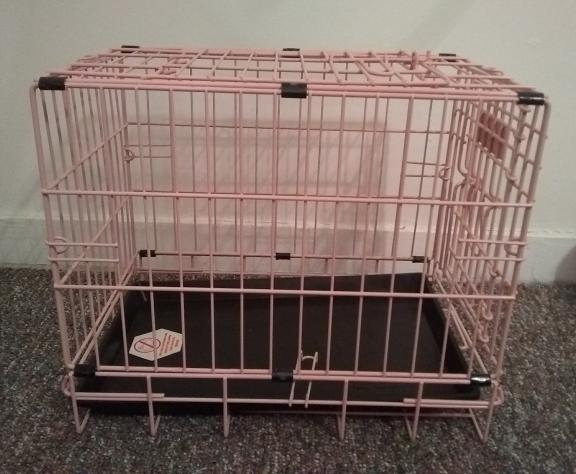 Cage crate for dog or cat