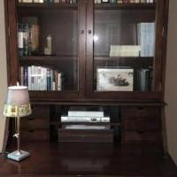 Pottery Barn Secretary Desk & Bookcase for sale in Belle Mead NJ by Garage Sale Showcase member Shoplisa50, posted 05/14/2018
