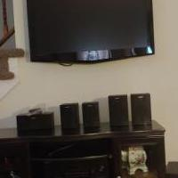 Tv entertainment system for sale in Ridley Park PA by Garage Sale Showcase member 1Reno, posted 07/31/2018