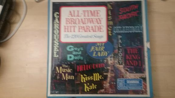 All Time Broadway Hit Parade 78 Disc for sale in Arkansas County AR
