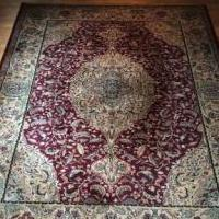 Oriental Rug in Pefect Condition for sale in Bridgman MI by Garage Sale Showcase member dancline1, posted 08/25/2018