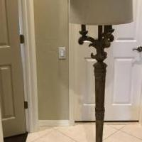 Floor lamp for sale in Naples FL by Garage Sale Showcase member 1946lucy, posted 10/04/2018