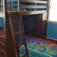 NE Kids Loft Bed and Desk for sale in Monroe NY by Garage Sale Showcase member theokasandrew, posted 08/18/2018