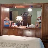 Queen headboard for sale in Upatoi GA by Garage Sale Showcase member Susieq, posted 08/23/2018