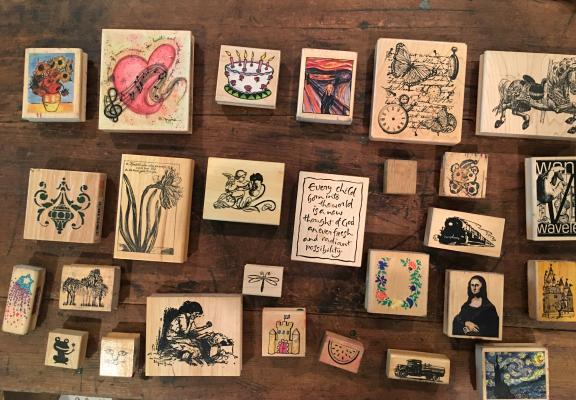 Art stamps for sale in Mckinney TX