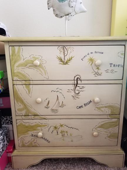 2 end tables chest with drawers for sale in Sarasota FL