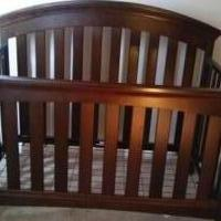 4-1 Baby Crib plus mattress for sale in Delaware OH by Garage Sale Showcase member donnao52, posted 06/19/2018