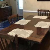 Dining room table,chairs, bench & buffet/hutch for sale in Cleveland TN by Garage Sale Showcase member DennisES, posted 09/17/2018