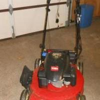 Toro Lawn Mower for sale in Bluffton IN by Garage Sale Showcase member Crabbyroad, posted 03/18/2018
