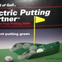 Electric Putting Partner for sale in Mchenry IL by Garage Sale Showcase member NCC1701, posted 06/12/2018