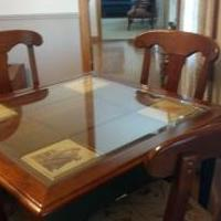 Norman Rockwell collectors series game table for sale in Mount Blanchard OH by Garage Sale Showcase member Jchester, posted 06/07/2018