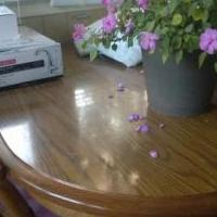 Table and chairs for sale in Clare County MI by Garage Sale Showcase member Snickers@105, posted 09/21/2018