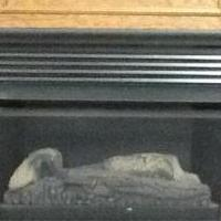 Ventless gas fireplace for sale in Kersey PA by Garage Sale Showcase member Mary/Dale, posted 04/11/2018