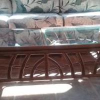 Florida room furniture Rattan style for sale in Tiffin OH by Garage Sale Showcase member Zigzag, posted 03/26/2018