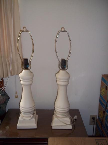 Solid Wood Table Lamps for sale in Naples FL