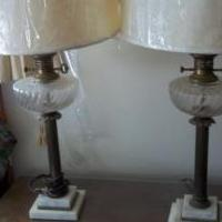 Key And Globe Table Lamps for sale in Naples FL by Garage Sale Showcase member sellit, posted 10/18/2018