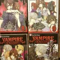 Lot of 4 Vampire Knight Manga Books for sale in Angier NC by Garage Sale Showcase member TheWriterInHer, posted 03/21/2018
