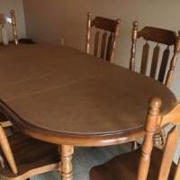 Dining room set for sale in Granger IN by Garage Sale Showcase member Spkkpk, posted 05/22/2018