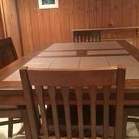 High Top Table for sale in Feasterville Trevose PA by Garage Sale Showcase member dlmattox, posted 08/07/2018