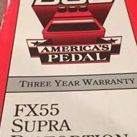 American Pedal FX 55 Supra Distortion for sale in Feasterville Trevose PA by Garage Sale Showcase member dlmattox, posted 08/08/2018