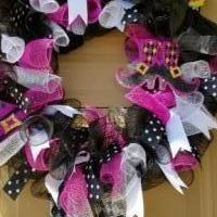 Witch wreath for sale in Lubbock TX by Garage Sale Showcase member Kwill74, posted 09/23/2018