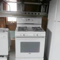 Amana Refrigerator & Gas stove for sale in Oregon IL by Garage Sale Showcase member Soffelea, posted 03/24/2018