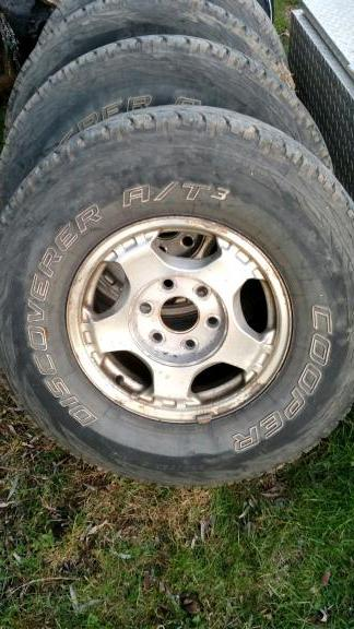 "Wheels and Tires 16"" for sale in Weedville PA"