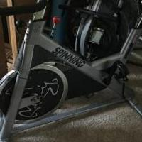 SPINNER BIKE for sale in Alpharetta GA by Garage Sale Showcase member kd2018, posted 03/25/2018