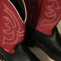 Justin Gypsy Western Boots for sale in Salem OR by Garage Sale Showcase member Jean4730, posted 04/06/2018
