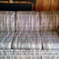 Sofa Sleeper for sale in Park Falls WI by Garage Sale Showcase member Mary Jane, posted 05/27/2018