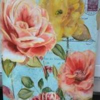 2 canvas painting prints for sale in Toledo OH by Garage Sale Showcase member kaysdesigns1924, posted 06/19/2018