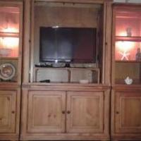 Entertainment Center for sale in Helmetta NJ by Garage Sale Showcase member Bailey12, posted 08/19/2018