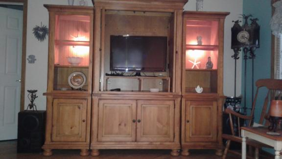 Entertainment Center for sale in Helmetta NJ