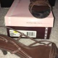 Women's Brown Bandolino Slingback's Size 9.5 for sale in Roseville MI by Garage Sale Showcase member Elle514, posted 04/09/2018