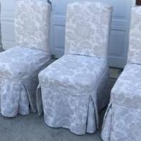 Dining room chairs for sale in Westampton NJ by Garage Sale Showcase member Rrams1319, posted 06/25/2018