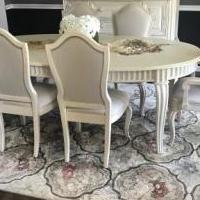 Dining room set for sale in Westampton NJ by Garage Sale Showcase member Rrams1319, posted 06/25/2018