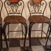 4 Bar Stools for sale in Short Gap WV by Garage Sale Showcase member Joe Freno, posted 06/10/2018