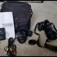 Nikon D3100 Digital Camera for sale in Fort Wayne IN by Garage Sale Showcase member Mcniecek, posted 09/03/2018
